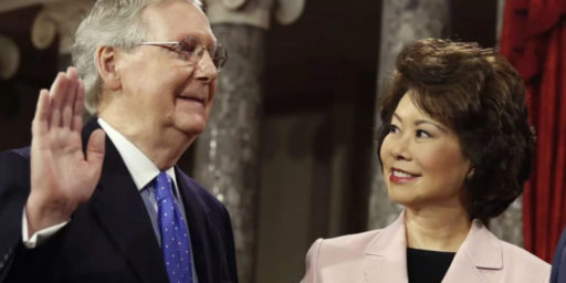Mitch McConnell And Wife Tied To Favortism At Transportation Department