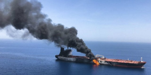 Oil Tankers Attacked Near Entrance To Persian Gulf, Escalating Tensions