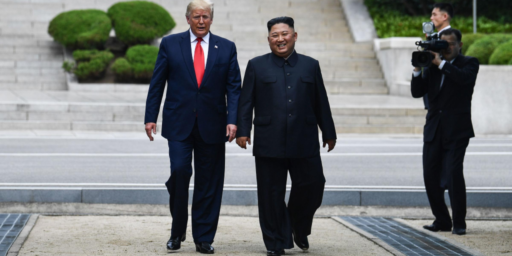 Trump And Kim Stage Another Photo Op Summit At The DMZ