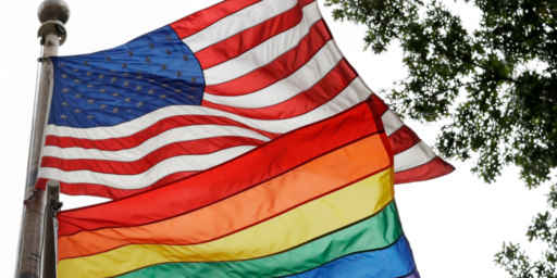 State Department Bars Embassies From Flying Rainbow Flag