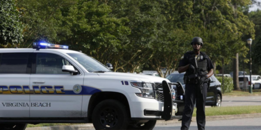 12 Killed In Shooting At Virginia Beach Municipal Complex