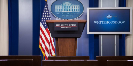 The Death Of The White House Press Briefing And Trump's Lack Of Transparency