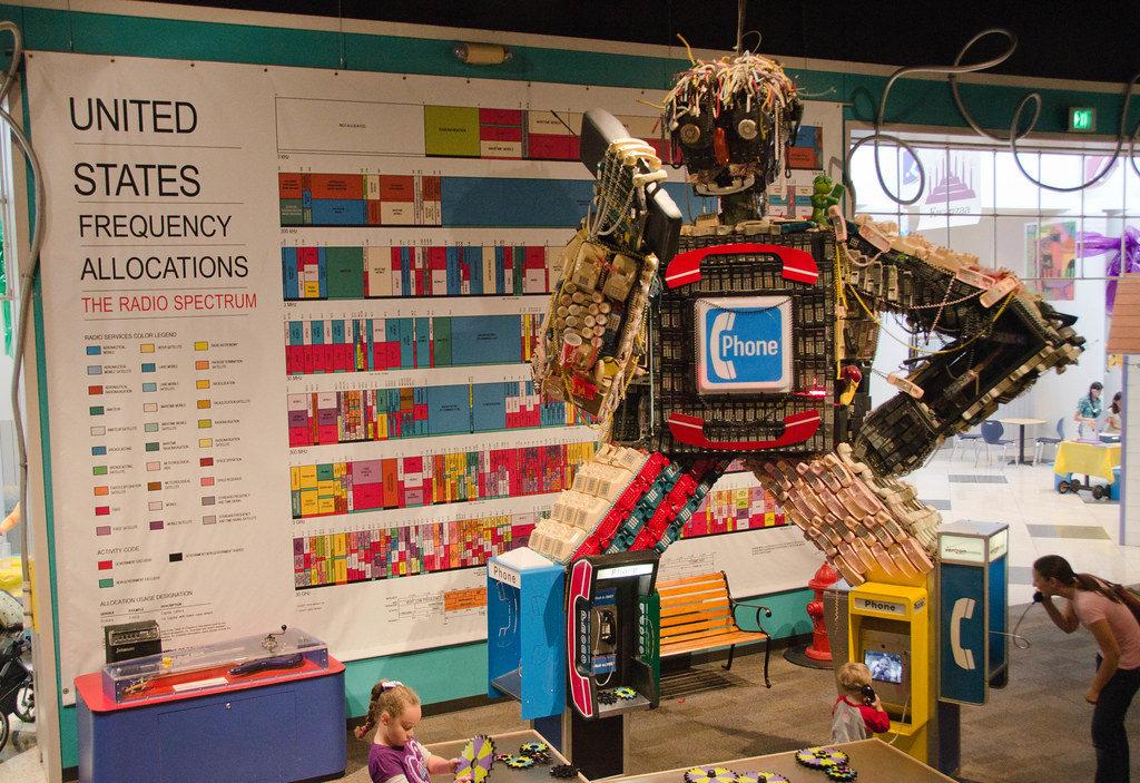 robot making phone call