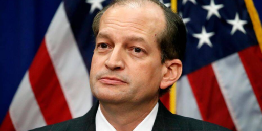Labor Secretary Alex Acosta Resigns Over Sweetheart Plea Deal With Jeffrey Epstein
