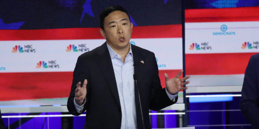 Andrew Yang Boycotting MSNBC Over Debate Speaking Time