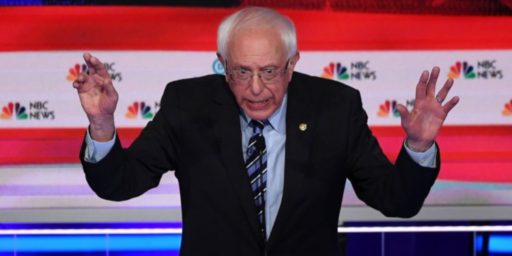 Bernie Sanders Hitting A Rough Patch