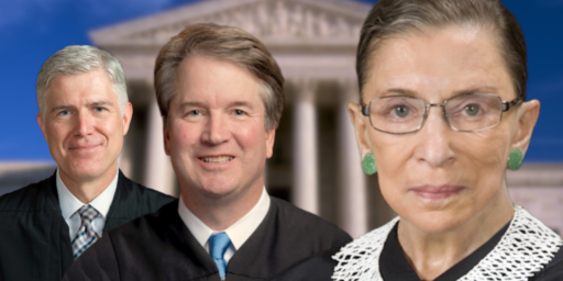 Ginsburg Offers Praise For Gorsuch And Kavanaugh