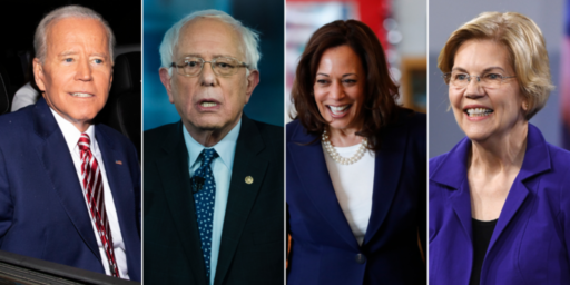 Additional Polling Shows Harris And Warren Rising, Biden Slipping After First Debate