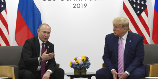 Trump Assisting Putin In His War On Liberal Democracy