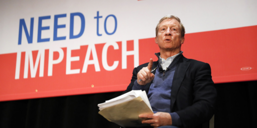 Billionaire Tom Steyer Apparently Running For President For Some Reason