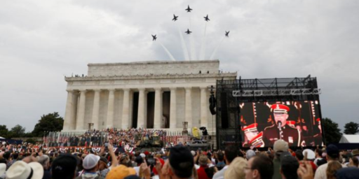 Washington, D.C. Wants Reimbursement For Costs Of Trump's July 4th Rally