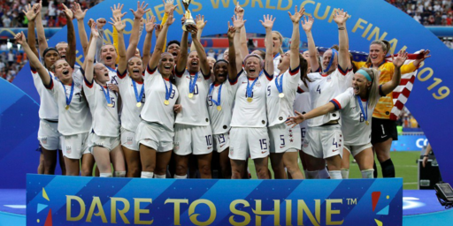 U.S. Women's Team World Cup Win Renews Fight Over 'Pay Equity'