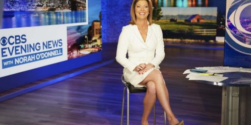 Norah O'Donnell Latest to Fill Walter Cronkite's Chair