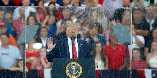Trump: Airports, Rocket's Red Glare During Revolution