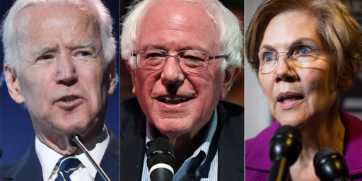 New Poll Shows Biden, Sanders, and Warren Tied At The Top Of Democratic Field