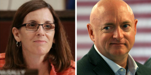 Mark Kelly Leads Martha McSally In Latest Arizona Senate Poll
