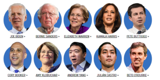 Democratic Debate Field Cut In Half