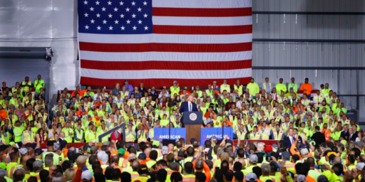 Trump's Potemkin Political Rally