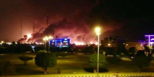 Major Drone Strike Hits Large Saudi Oil Facility