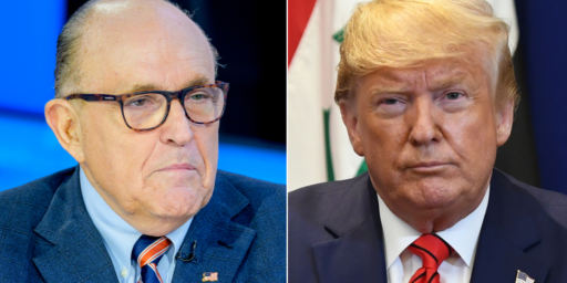 Trump Basically Let Rudy Giuliani Hijack American Foreign Policy