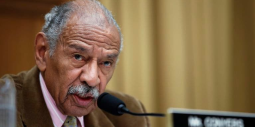 John Conyers, Congressman And Founder Of Congressional Black Caucus, Dies At 90