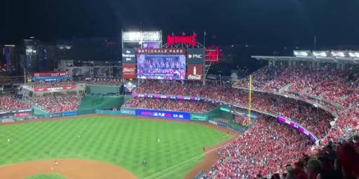 """Trump's World Series Trip Greeted By Boos and Chants Of """"Lock Him Up!"""""""