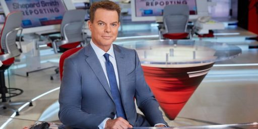 Shepard Smith Out at Fox [UPDATED]