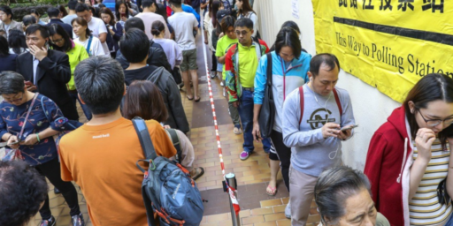 After Months Of Protests, Hong Kong Heads To The Polls
