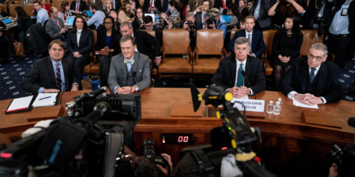 Democrats Begin To Make Their Case In First Day of Public Impeachment Hearings