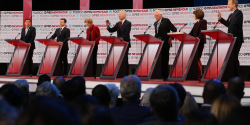 Democratic Debate Stage Set To Shrink Again