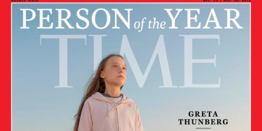 Climate Activist Greta Thunberg Is Time's 'Person Of The Year""