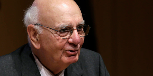 Paul Volcker, Fed Chairman Who Slew The Inflation Dragon, Dies At 92