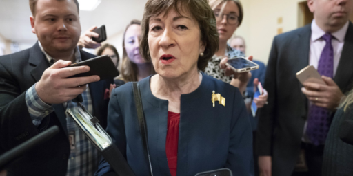 Susan Collins Announces Reelection Bid