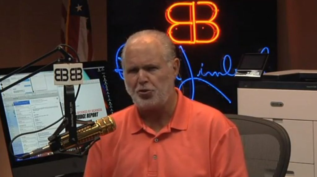 Rush Limbaugh says he's been diagnosed with advanced lung cancer