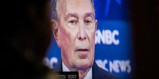 Bloomberg Tweets Doctored Debate Video