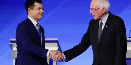 Young Pete Buttigieg's Ode to Bernie Sanders