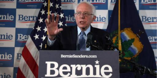 Bernie Sanders is Toast