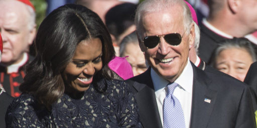 Michelle Obama Shouldn't Be Vice President