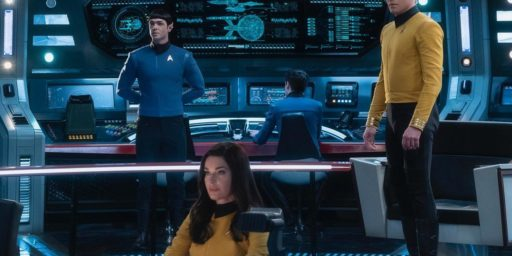 New Trek with Pike and Spock