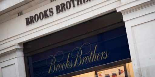 Brooks Brothers Bankrupt