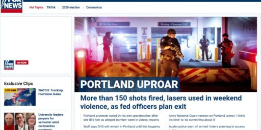 Reporting on Portland