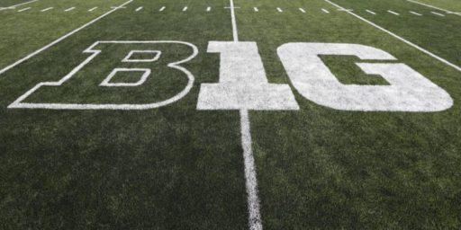 Big Ten Football Back October 24