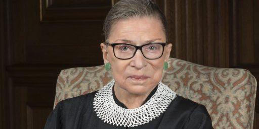 Ruth Bader Ginsburg, 1933-2020