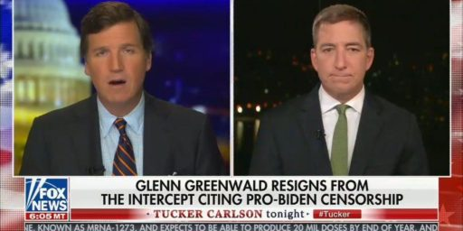 Glenn Greenwald Quits Intercept