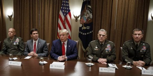 Joint Chiefs in COVID Quarantine