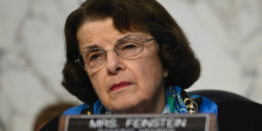 Dianne Feinstein's Declining Mental Health