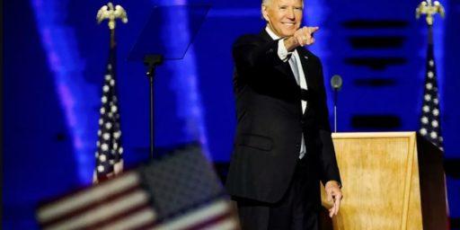 President-Elect Biden's Victory Speech