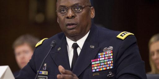 Gen. Lloyd Austin Biden's SecDef Pick