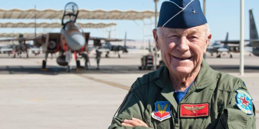 Chuck Yeager Dead at 97