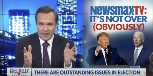 Newsmax Gaining on Fox